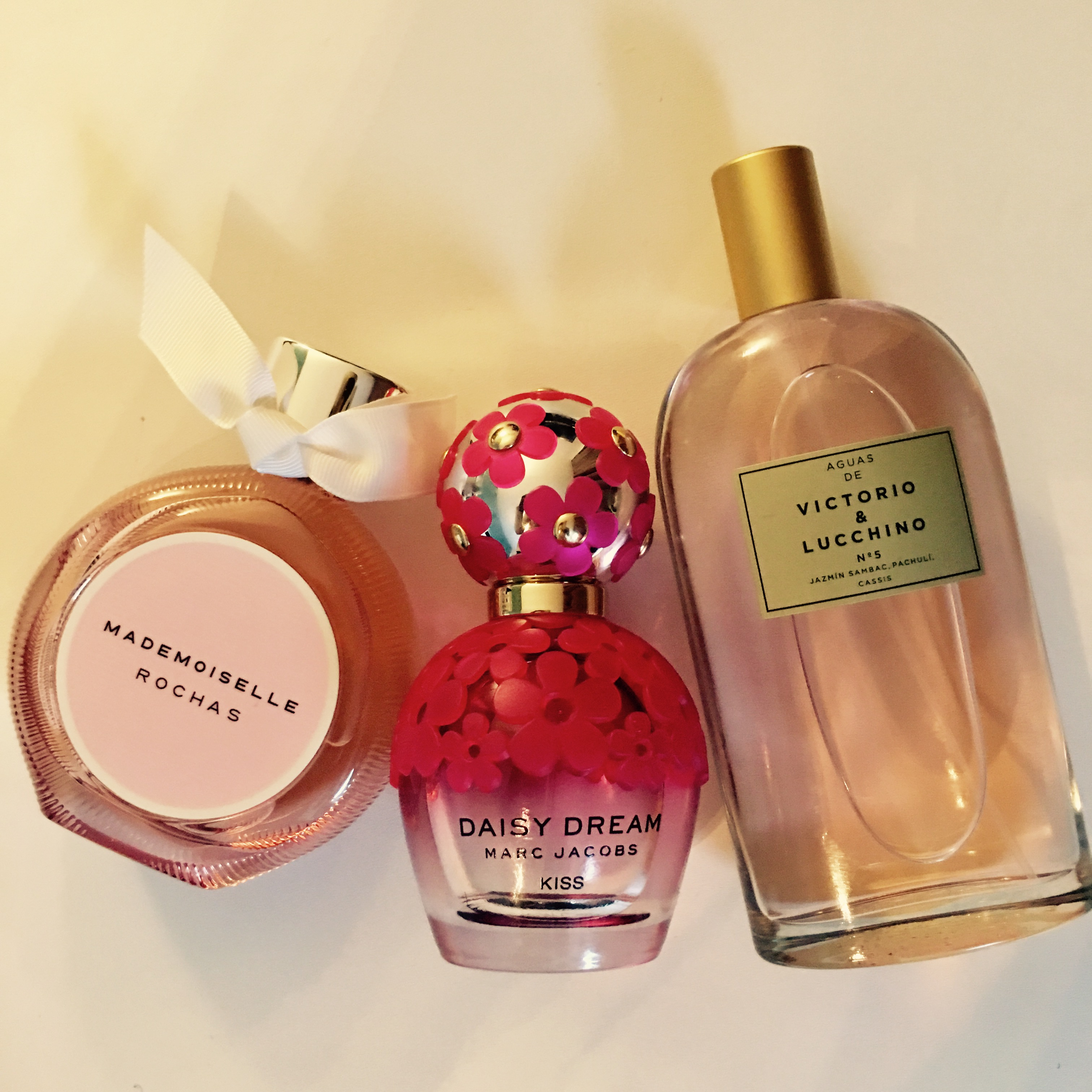 Mes parfums fruités du moment-MademoiselleRochas;DaisyKiss;Victorio_Lucchino
