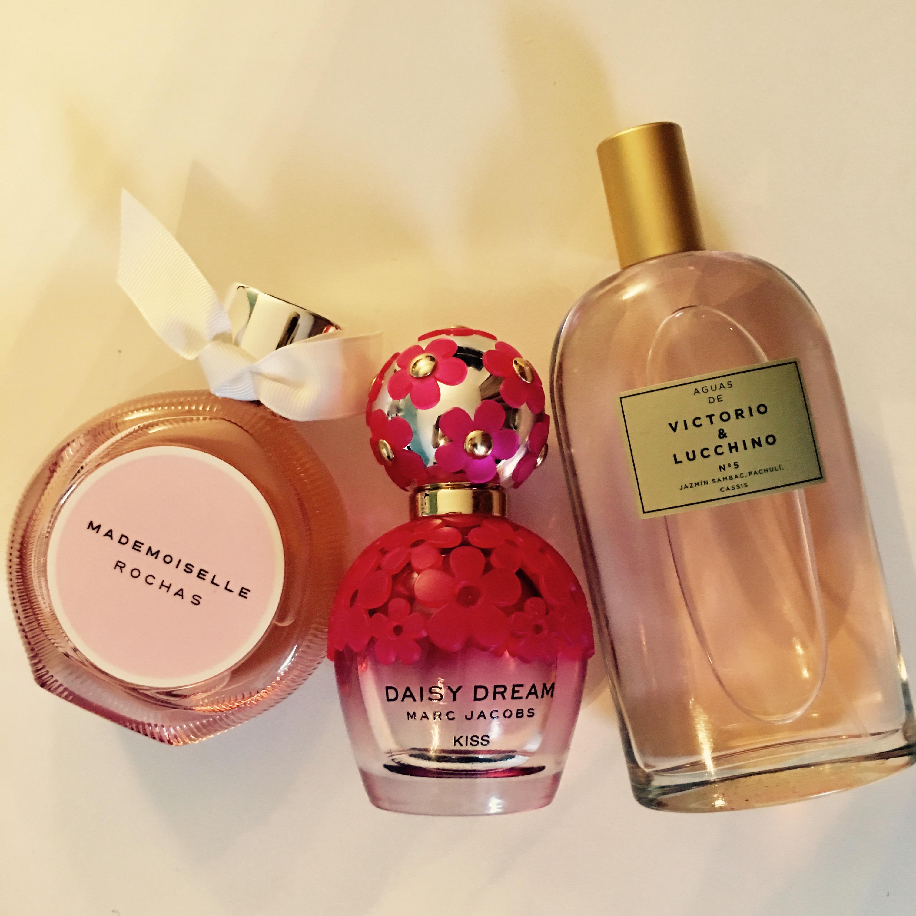 Mes parfums fruités du moment-MademoiselleRochas;DaisyKiss;Victorio_Lucchino