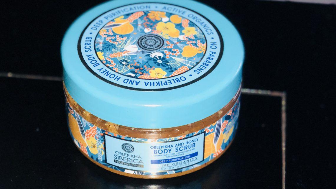 Gommage corporel intense au miel et à l'argousier